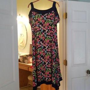 NWOT Cold shoulder dress.